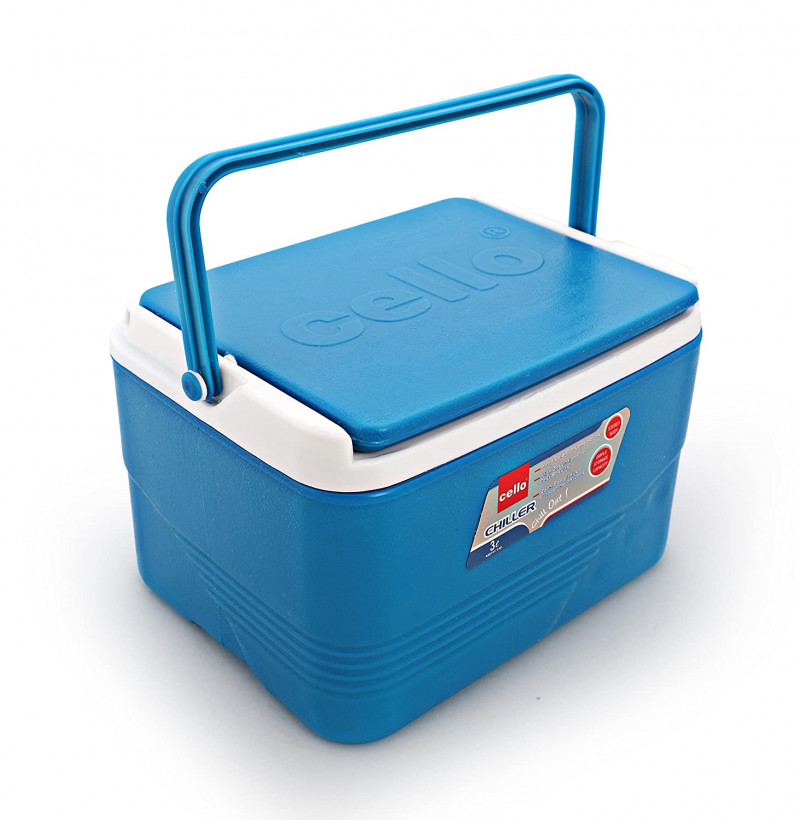 Cello Plastic Chiller Ice Packs 3litres Blue
